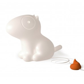 D-Dog Lamp - Lampada a forma di cane con pulsante speciale