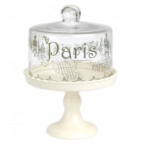 Alzatina PARIS in ceramica e vetro