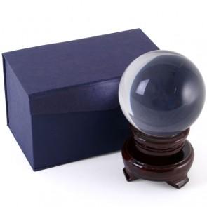 Sfera di cristallo da 8 cm di diametro - palla mistica