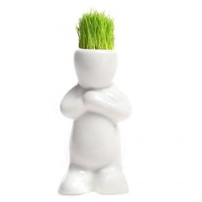 Grass Head Tops - YOGA - Fai crescere i capelli di erba all'omino